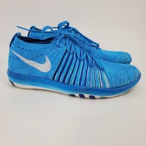 Nike Free Flyknit Athletic Running Sneakers Sz 6